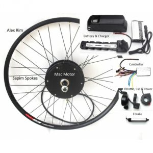 Upgrade Mac Ebike Kit with 47/50V (25A Max) Battery Option